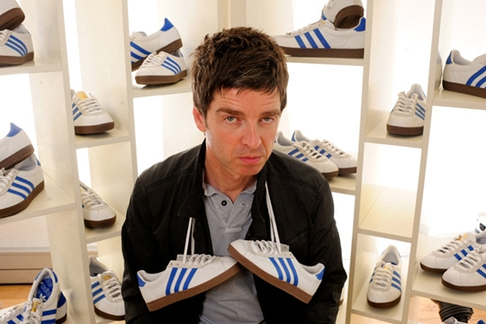 Noel Gallagher lance nouvelle basket Adidas Trainer 72