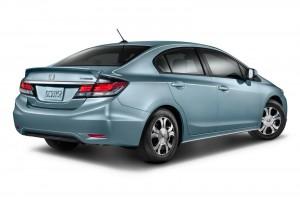 La Honda Civic Hybrid