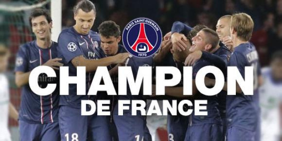 PSG champion france