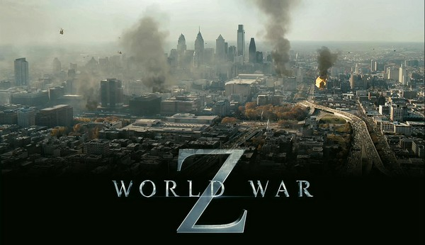World War Z : Les Zombies attaquent la planète.