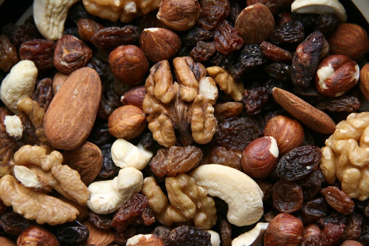 fruit sec pour la musculation