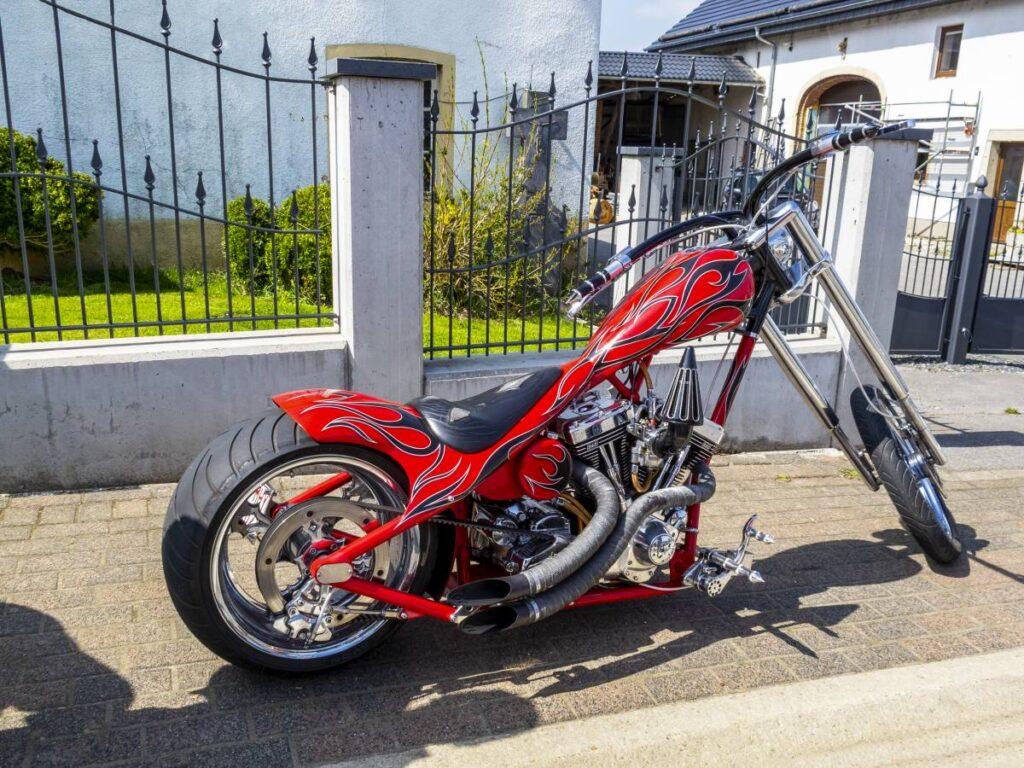 moto long rider rouge