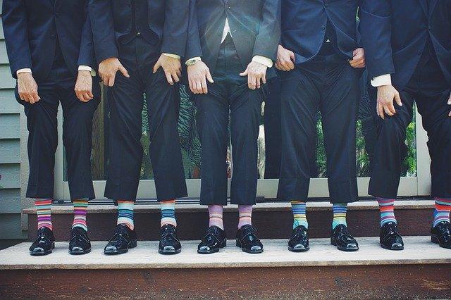 chaussette de couleur