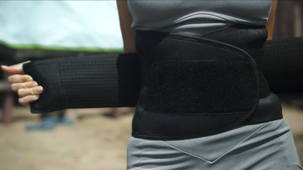 ceinture de sudation, perdre du ventre