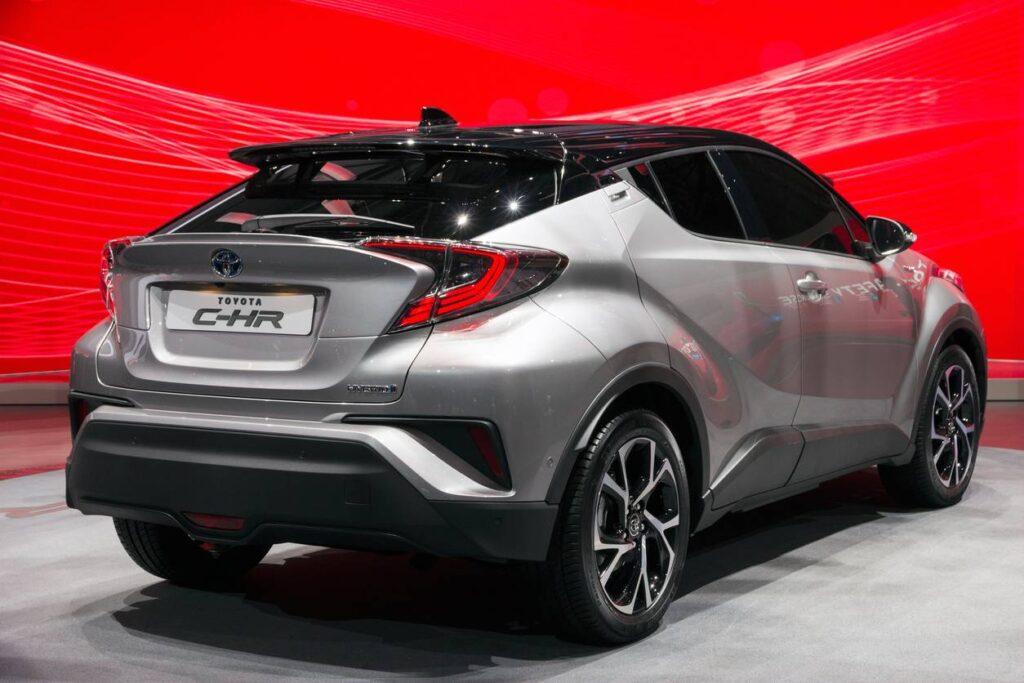 essai conduite Toyota C-HR